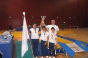 Iniciados masculinos, Vice Campeões Nacionais de Mini Trampolim
