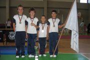 Infantis masculinos, Vice Campeões Nacionais de Mini Trampolim
